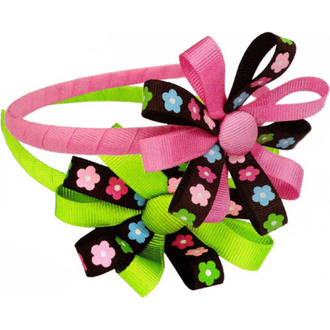 Creative Button Bow Headband
