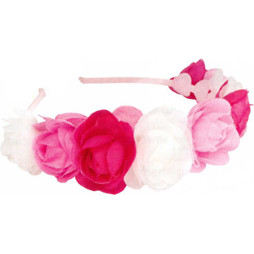 Creative Rose Puff Headband