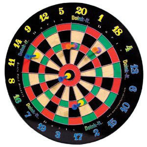 Doink-It Darts Dart Board