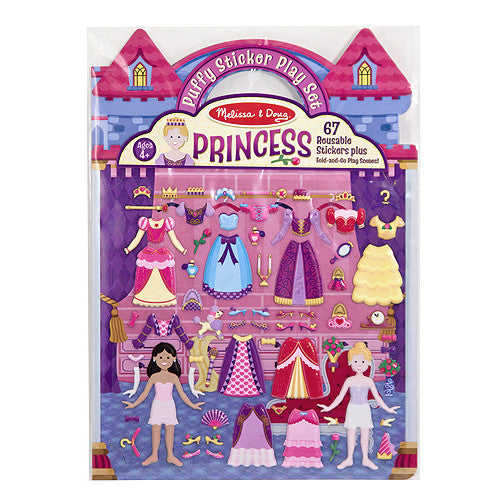 M&D Puffy Princess Dress Up Sticker