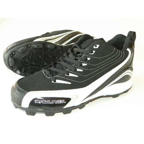Rawlings Base Invader Low Black 12.5 Youth