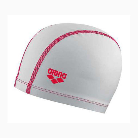 Arena Light Sensation Latex/Lycra Cap White/Red
