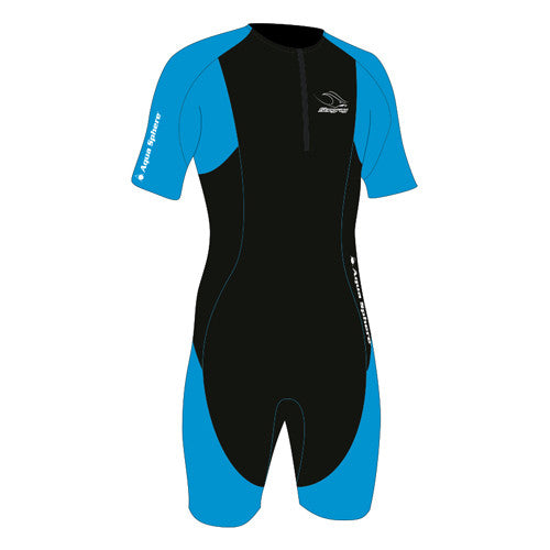 Aquasphere Stingray S/S Thermal Blue XXS 2T-3T