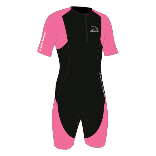 Aquasphere Stingray S/S Thermal Pink XXS 2T-3T