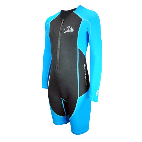 AquaSphere L/S Stingray Thermal Blue 4T