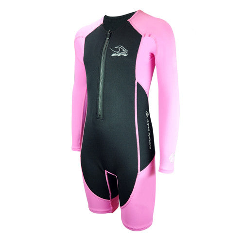 AquaSphere L/S Stingray Thermal Pink 8T