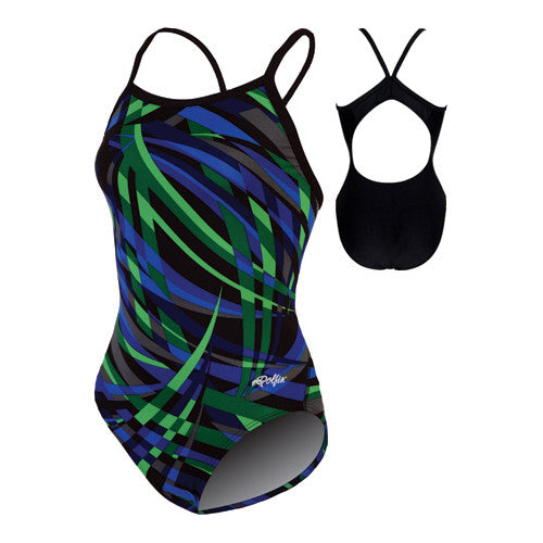 Dolfin Alpha Poly Blue/Green 34