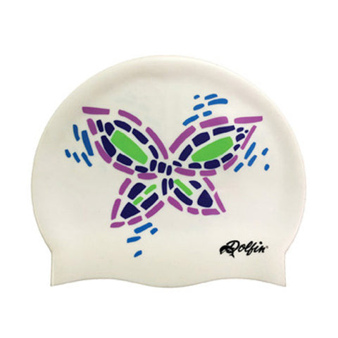 Dolfin Butterfly Silicone Cap Butterfly