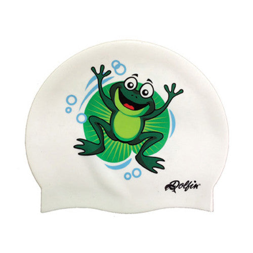 Dolfin Frog Silicone Cap Frog