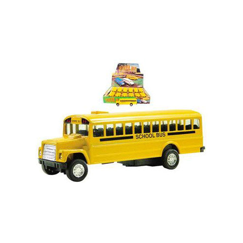 Master Toy Yellow School Bus Die Cast