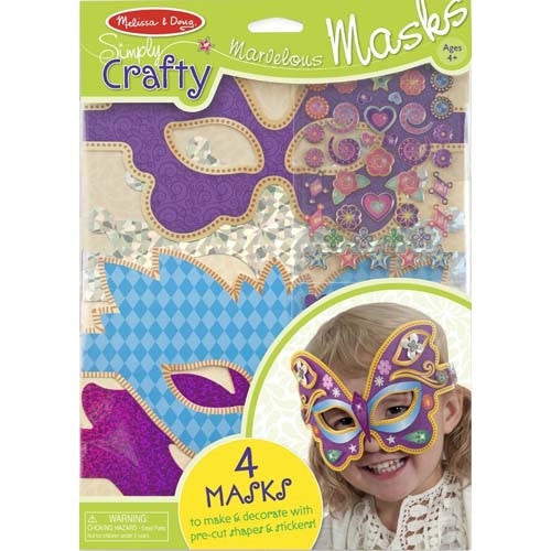 M&D Simply Crafty Marvelous Masks