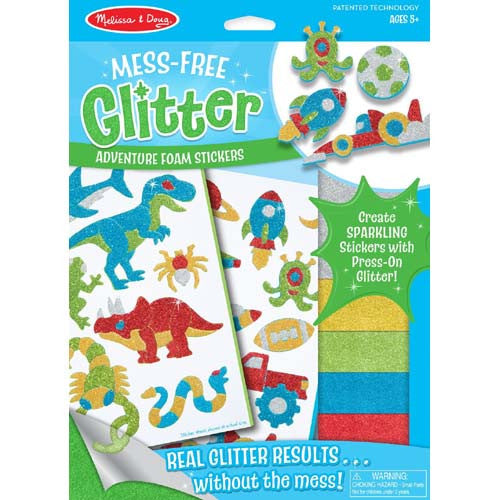 M&D Mess Free Glitter Cool Creatures
