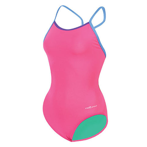 Dolfin Butterfly Back Solid Pink 34