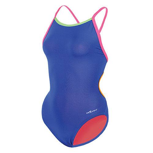 Dolfin Butterfly Back Solid Blue 24