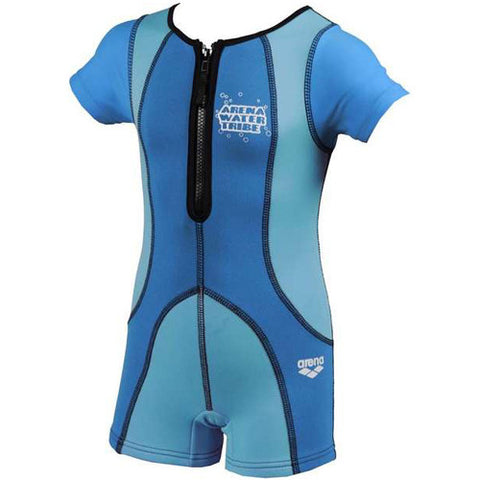 Arena Warmsuit Blue 8-9 Years