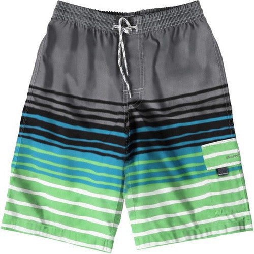 SnapperRock Island Stripe Boardie 08