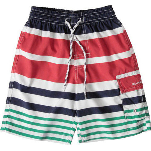 SnapperRock Nautical Stripe Boardie 06
