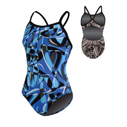 Dolfin Domino Poly Blue 32