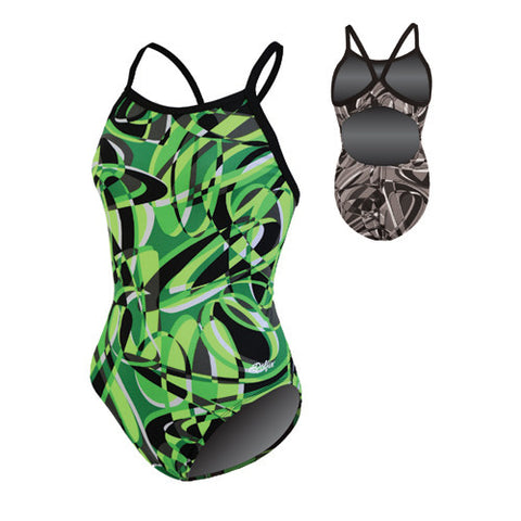 Dolfin Domino Poly Green 28