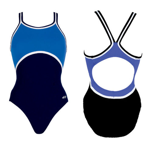 Dolfin Poly Color Block Royal/Navy/White 34