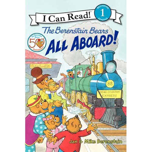 Step 1 Berenstain Bears All Aboard