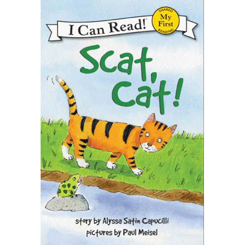 My First I Can Read! Scat, Cat!