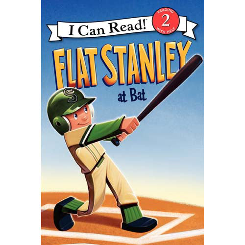 Step 2 Flat Stanley at Bat