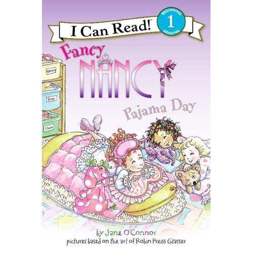 Step 1 Fancy Nancy Pajama Day