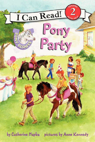 Pony Scouts Pony Party