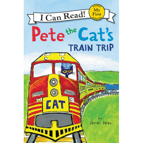 My First Pete the Cat's Train Trip