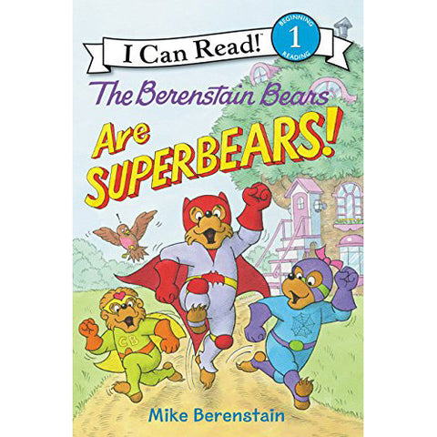 Step 1 Beenstain Bears are SuperBears!