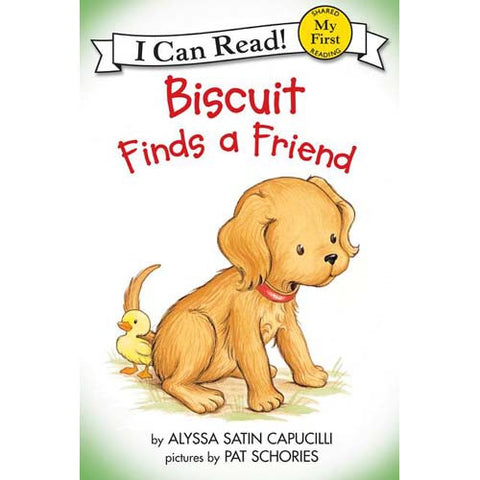 My 1st I Can Read!Biscuit Finds a Friend