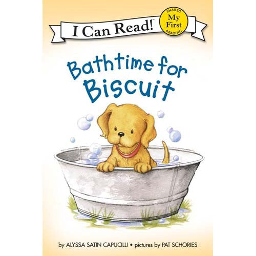 My 1st I Can Read! Bathtime for Biscuit