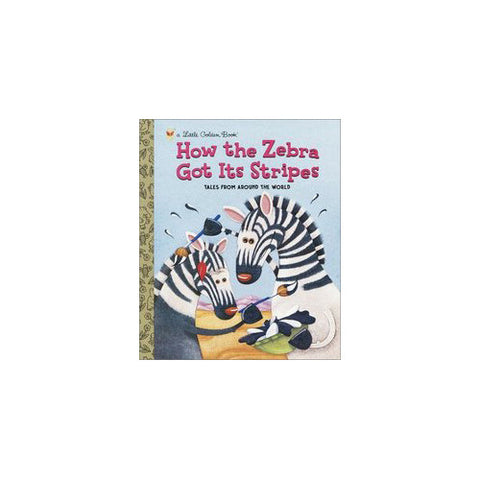 Little Golden Books How Zebra Got It's S