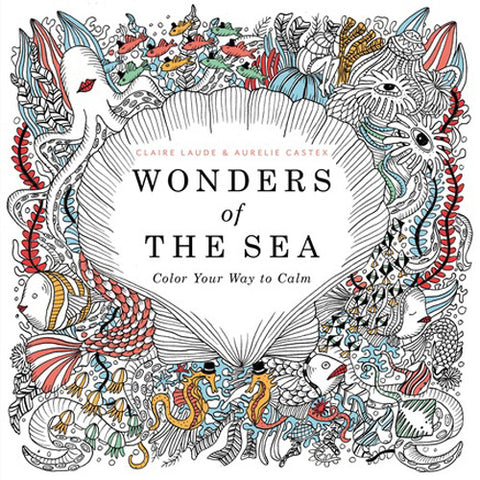 Hachette Coloring Book Wonders of the Se