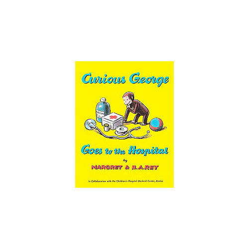 Houghton Curious George Goes to Hospital