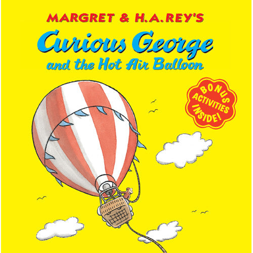 Houghton Curious George Hot Air Balloon