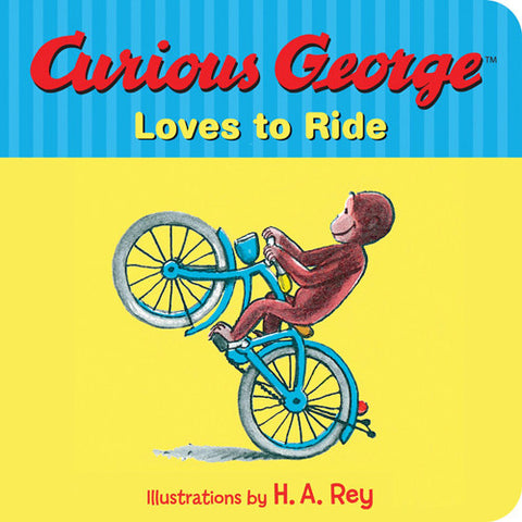 Houghton Curious George Loves to Ride