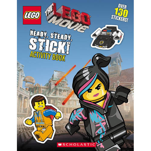 Scholastic Lego Movie Ready Steady Stick