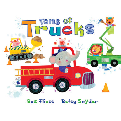Houghton Tons of Trucks Flap Book