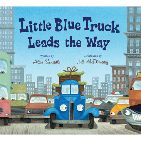Houghton Little Blue Truck Leads the Way