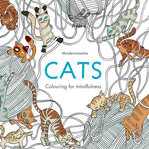 Hachette Coloring Book Cats
