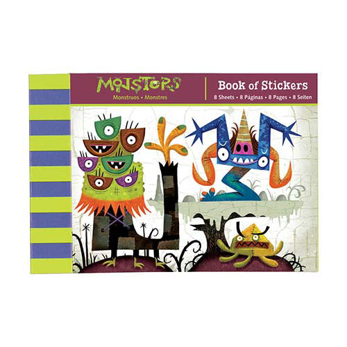 Mudpuppy Bk of Stickers Monsters