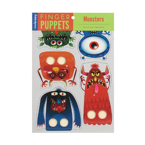Mudpuppy Finger Puppets Monsters