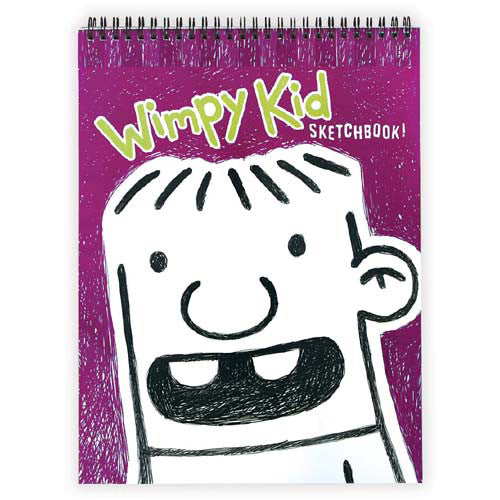 Mudpuppy Wimpy Kid Rowley Sketchbook