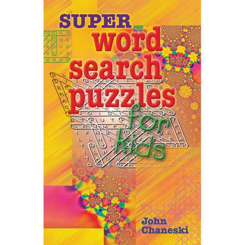 Sterling Super Word Search Puzzles for K