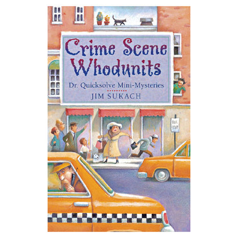 Sterling Crime Scene Whodunits Book