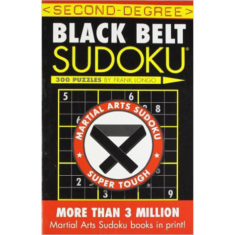 Sterling Second Degree Black Belt Sodoku