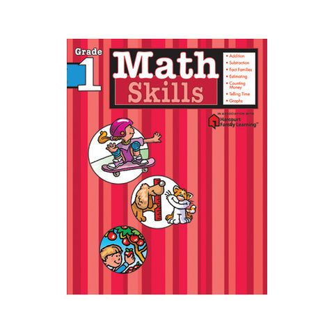 Harcourt Math Skills Grade 1 Workbook