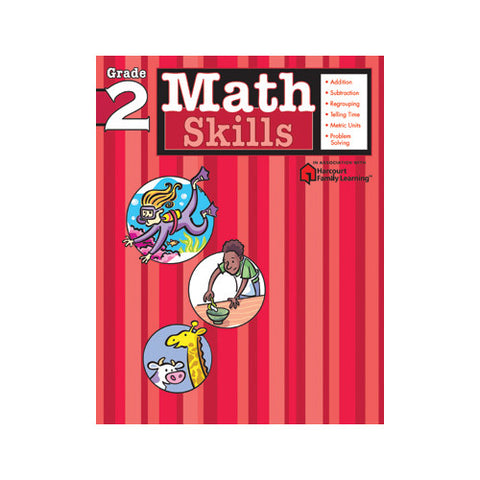 Harcourt Math Skills Grade 2 Workbook
